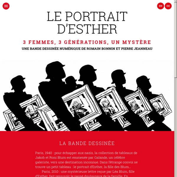 Le portrait d'Esther
