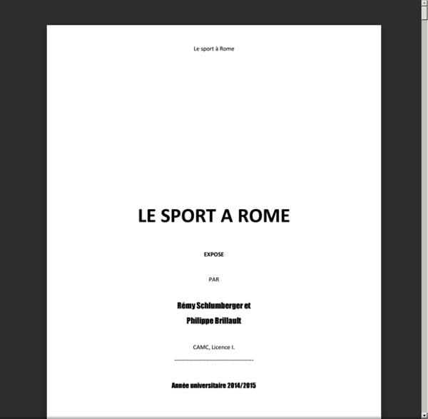 LE SPORT A ROME.pdf