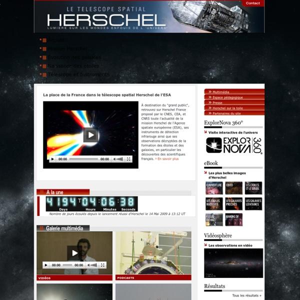 Le télescope Herschel