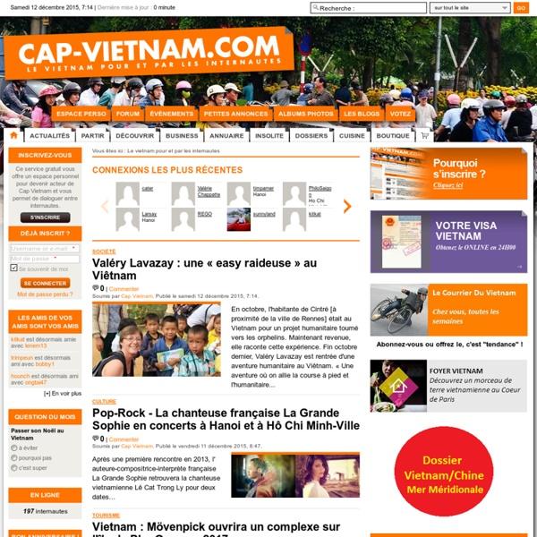 Le vietnam pour et par les internautes