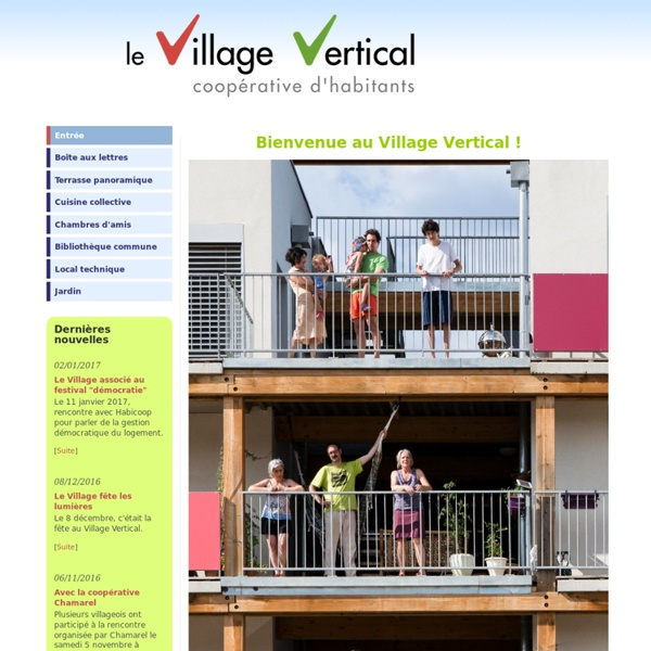 Le Village Vertical - Accueil