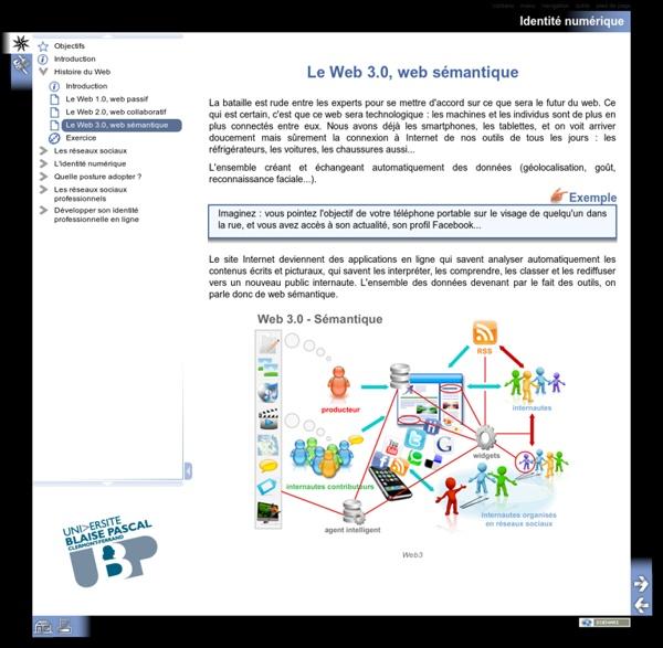 Le Web 3.0, web sémantique