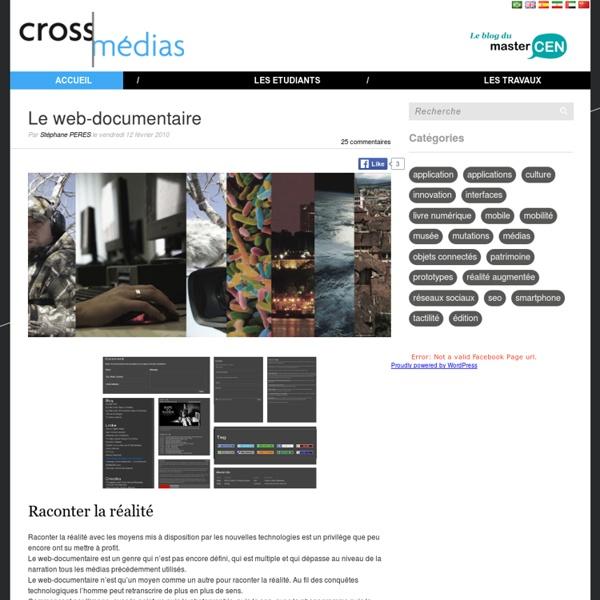 Le web-documentaire