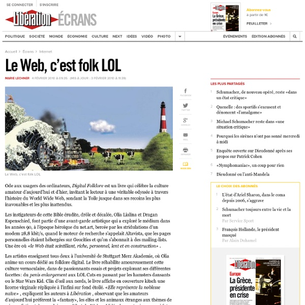 Le Web, c'est folk LOL
