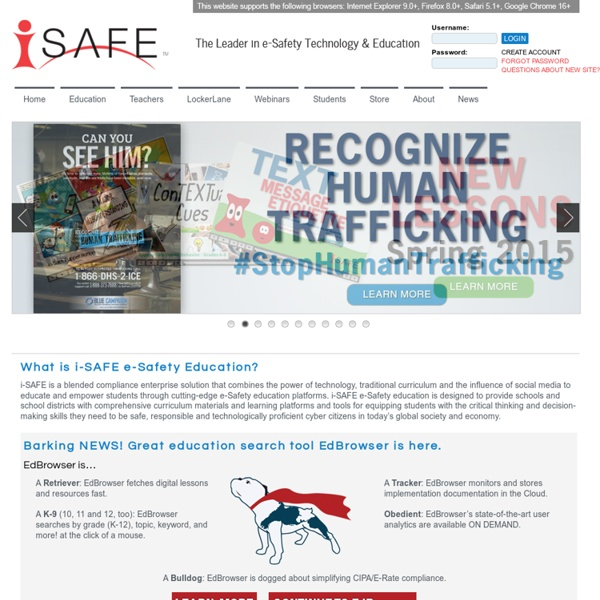 I-SAFE - The Leaders in E-Safety Education