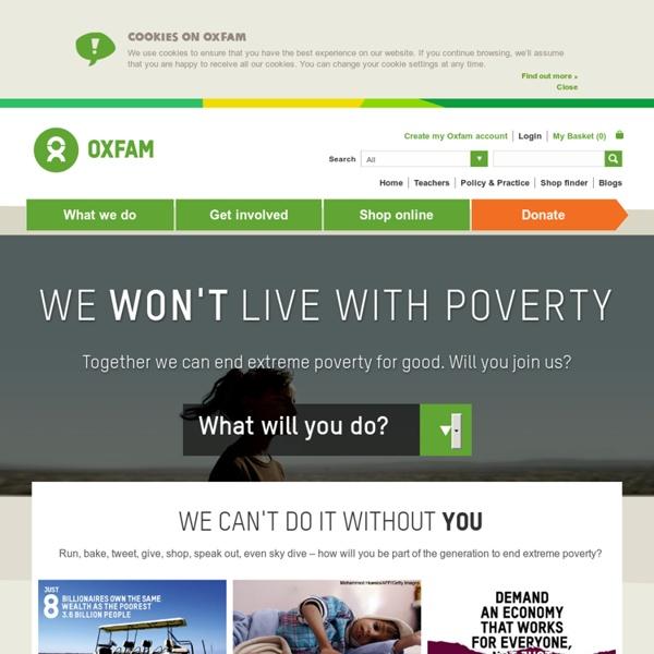 Leading UK charity fighting global poverty