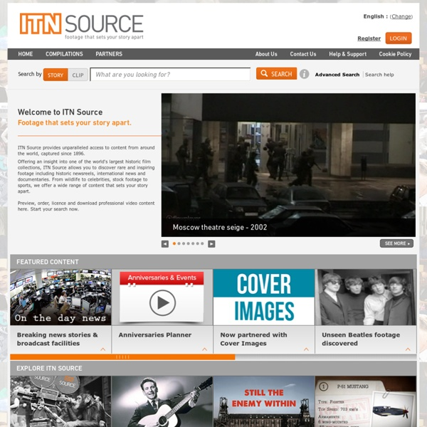 The world's leading provider of archive footage