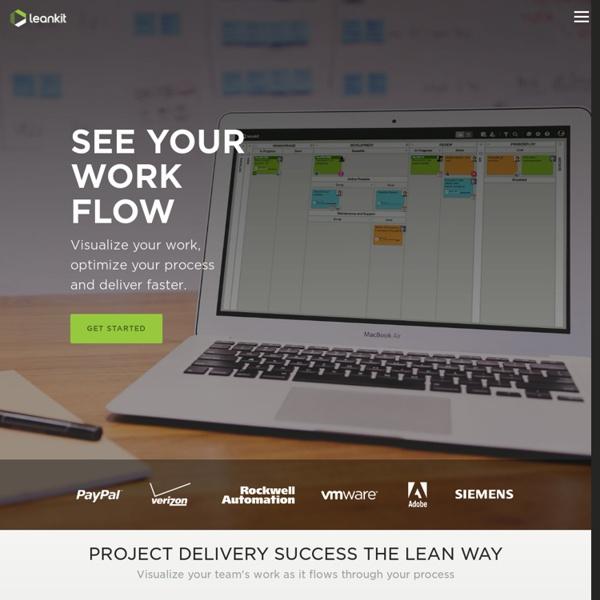 LeanKit Kanban - Lean Process Management