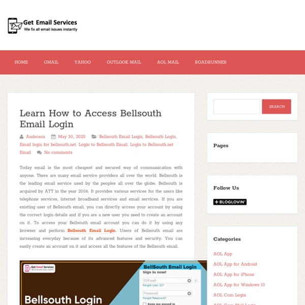 Learn How to Access Bellsouth Email Login