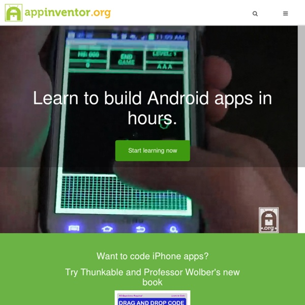 Learn to build Android apps