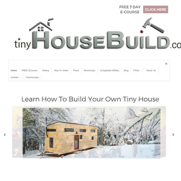 Build A Tiny House - TinyHouseBuild.com