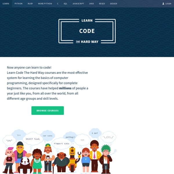 Books And Courses To Learn To Code