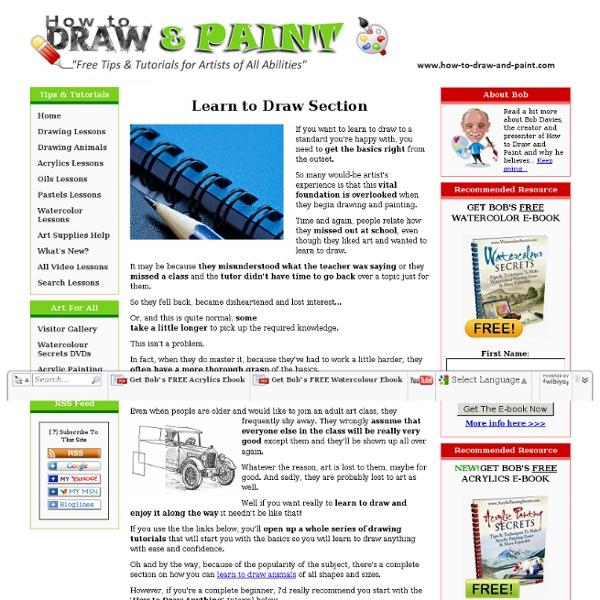 Learn to Draw Anything with Ease and Confidence