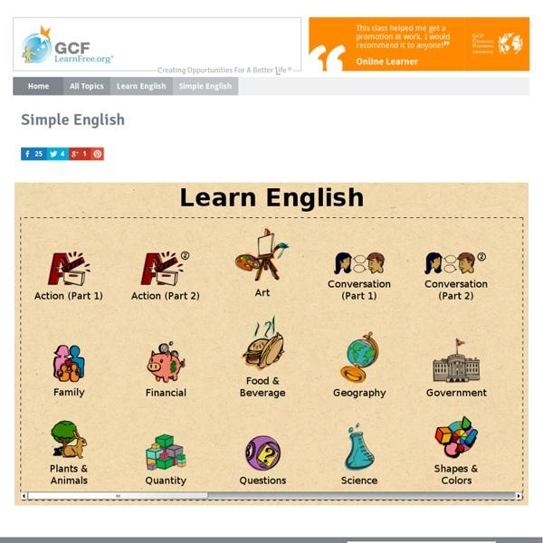 Learn English: Simple English