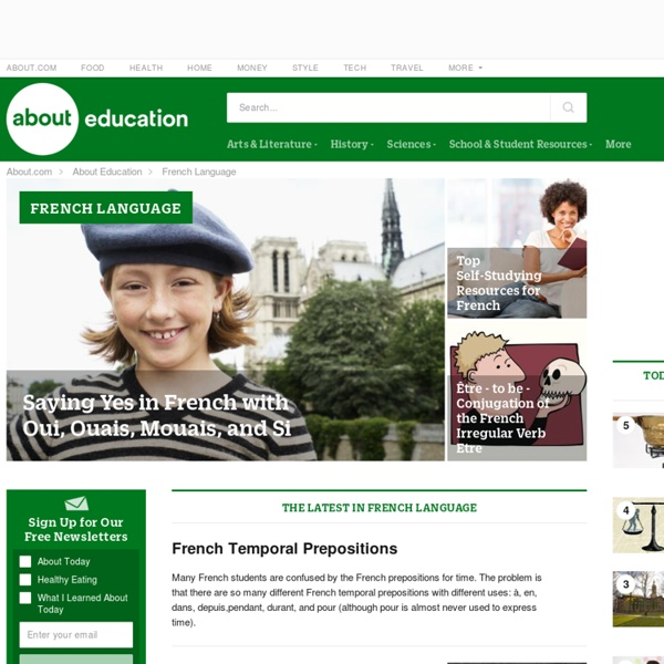 French language - About.com