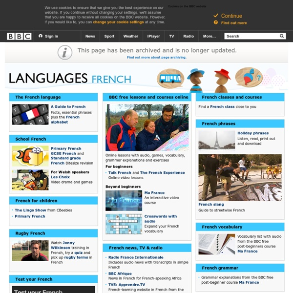 Languages - French: All you need to start learning French