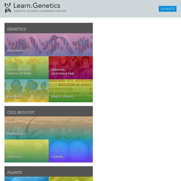 Learn Genetics (delphine)