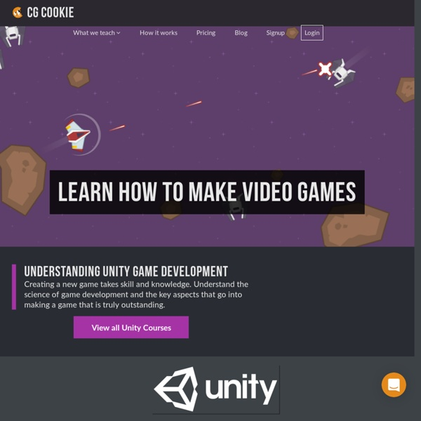 Unity Game Engine Tutorials and Resources