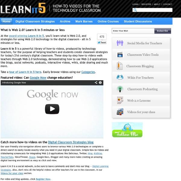 Learn It In 5 - Home