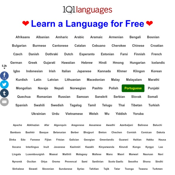 Learn Languages Online for Free ❤ 101 Languages