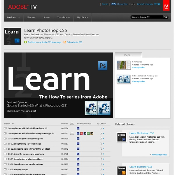 Learn Photoshop CS5