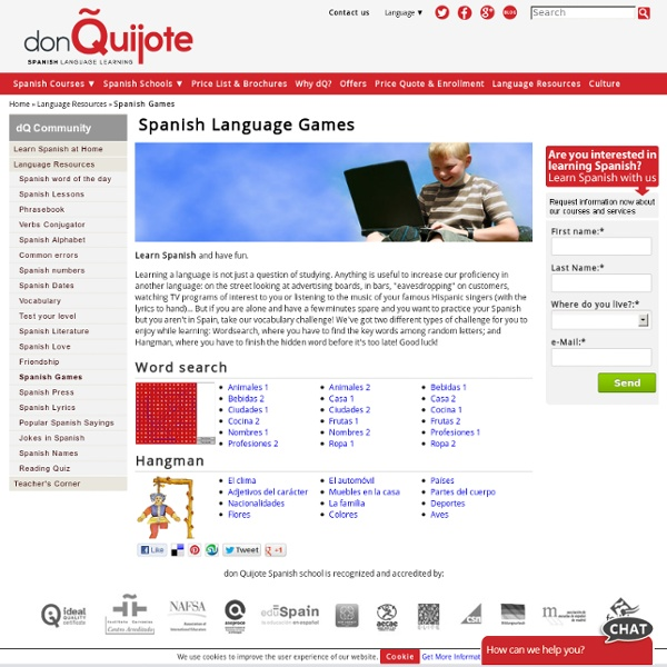 Free Online Games for Language Learning