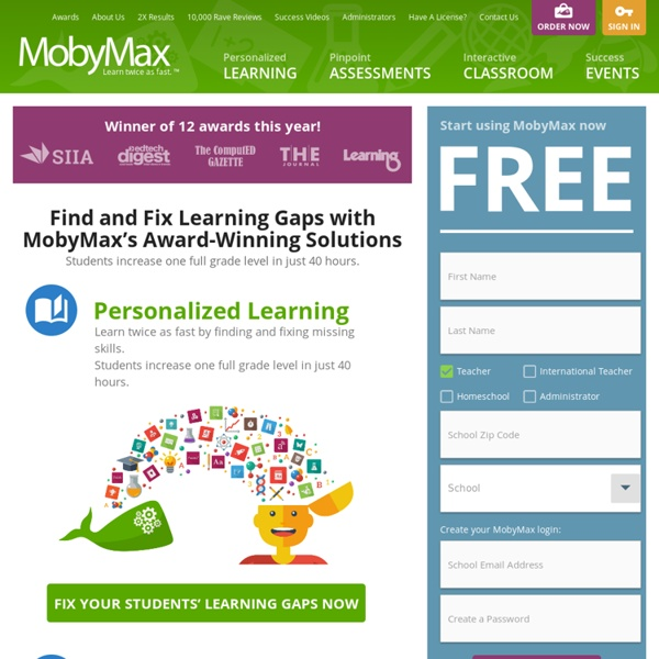 MobyMax: Complete K-8 Curriculum