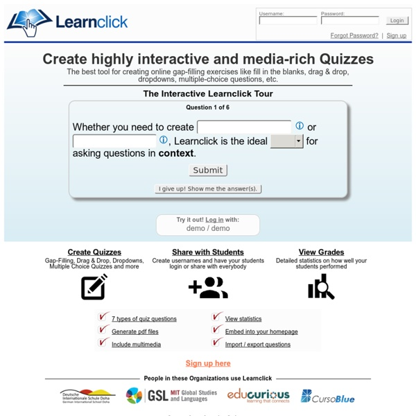 Online Cloze Test Creator - Create gap-filling exercises, drag & drop, dropdown and multiple choice quizzes