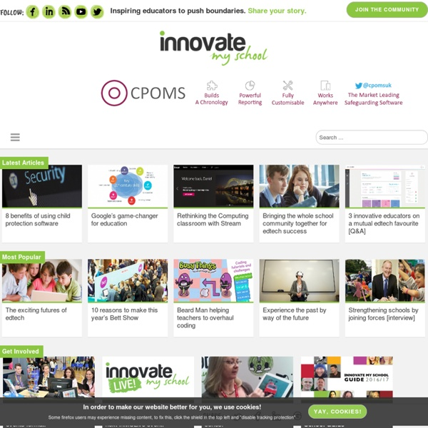 Technology in Education - Innovate My School