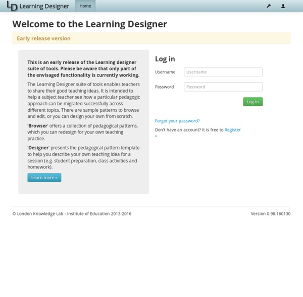 Learning Designer