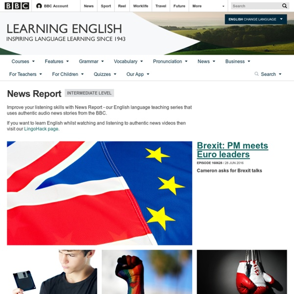 BBC Learning English - News Report