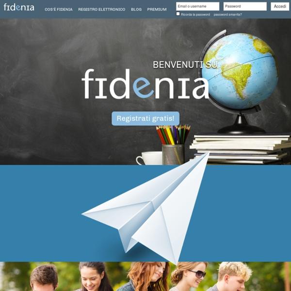 Fidenia – Il social learning italiano (e-learning, social network, e-sharing, e-commerce)