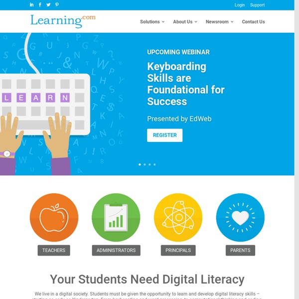 Learning.com - Online tech math science curriculum, assessments, Sky digital learning environment