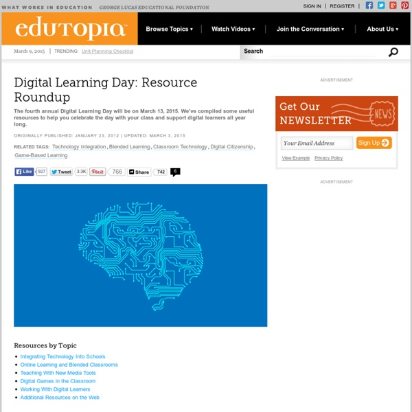 Digital Learning Day: Resource Roundup