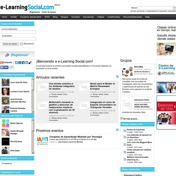 E-Learning Social