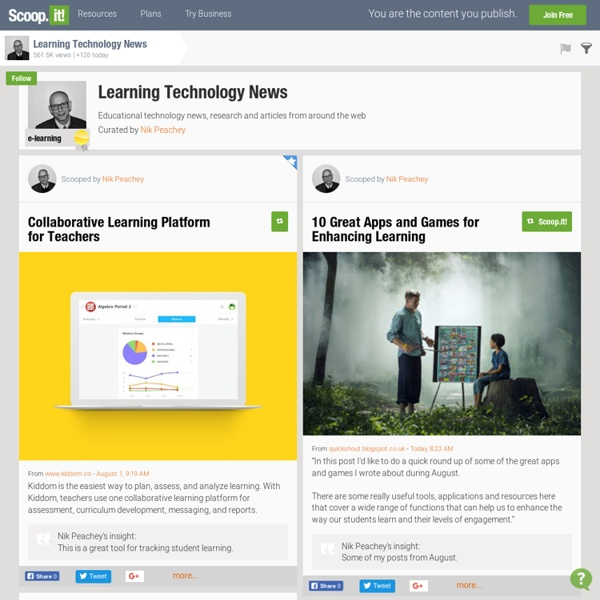 Learning Technology News