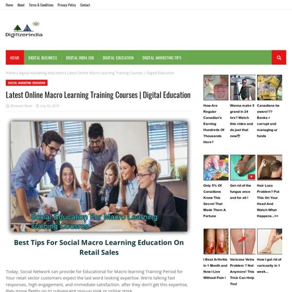 Latest Online Macro Learning Training Courses