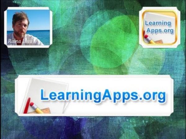 App per prof #23 LEARNINGAPPS (Giochi didattici)