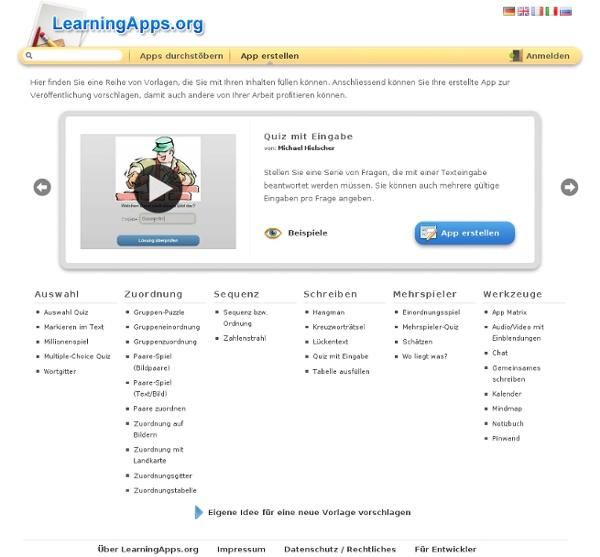 Interaktive und multimediale Lernbausteine