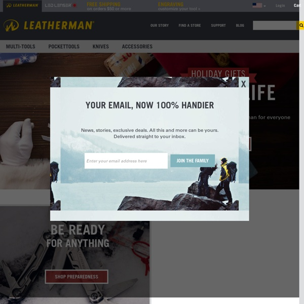 Leatherman Multi-Tools, Knives, and Military and Law Enforcement Tools