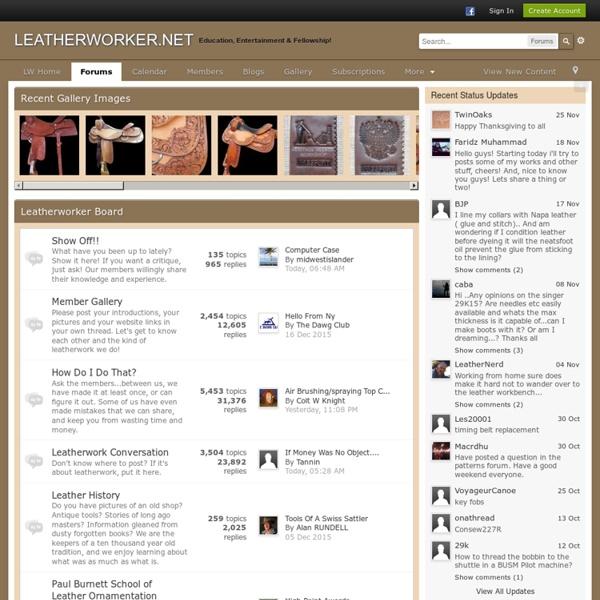 Leatherworker.net
