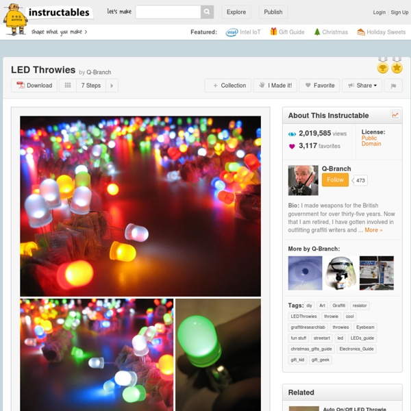 LED Throwies - All