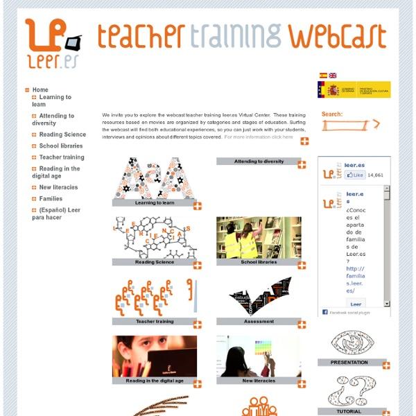 Webcast de formación