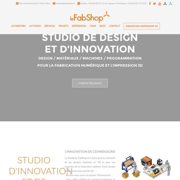 Solutions de fabrication digitale