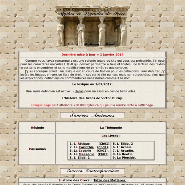 Et Légendes de la Grèce ancienne par Gasperazzo Gabriel. ©