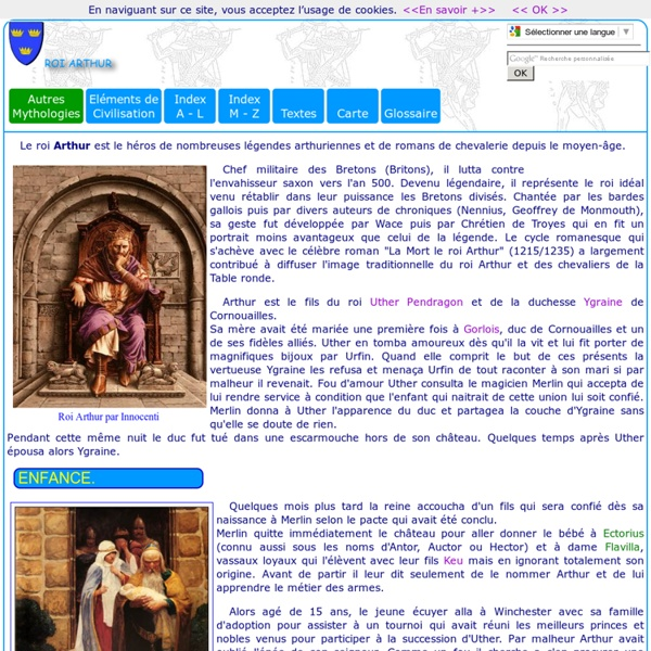 L gendes m di vales arthur pearltrees - Contes et legendes des chevaliers de la table ronde resume ...