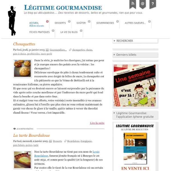 Légitime gourmandise