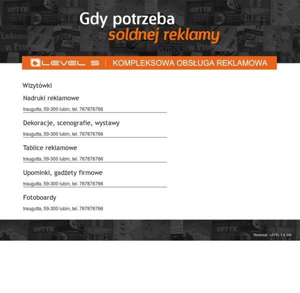 Legnicki Informator branży reklamowej.