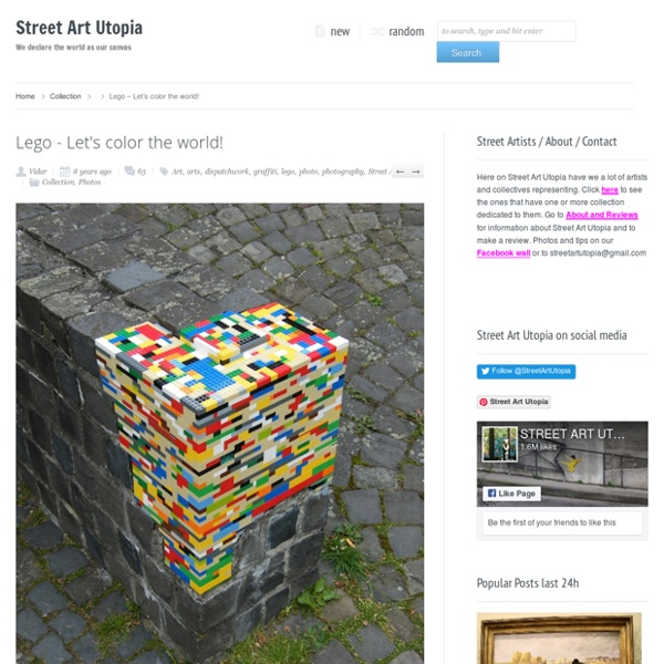 Lego – Let´s color the world!