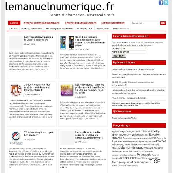 Lemanuelnumerique.fr